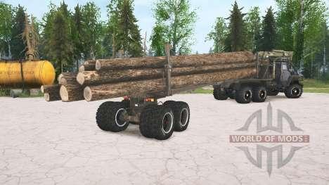 Ural-4320 for Spintires MudRunner