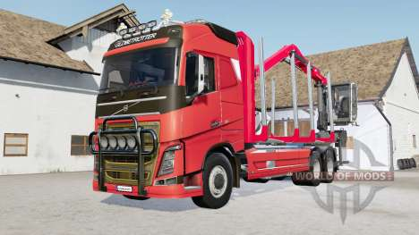 Volvo FH16 750 timber truck for Farming Simulator 2017