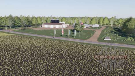 Autumn Oaks for Farming Simulator 2017