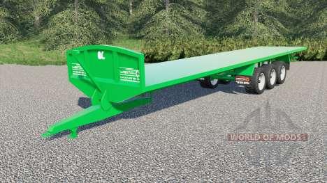 Larrington 42ft Flat Deck for Farming Simulator 2017