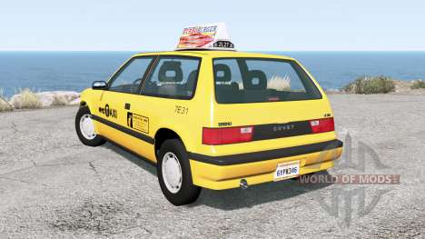 Ibishu Covet New York Taxi for BeamNG Drive