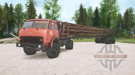MAZ-509А for Spintires MudRunner
