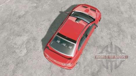 Mitsubishi Lancer Evolution X FQ-400 2009 for BeamNG Drive