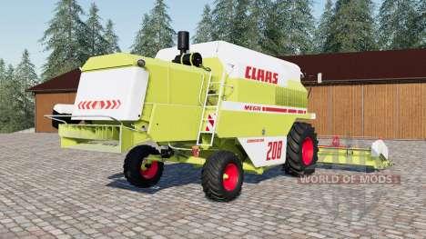 Claas Mega 208 Dominator for Farming Simulator 2017
