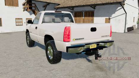 Chevrolet Silverado 1500 Regular Cab 1999 for Farming Simulator 2017