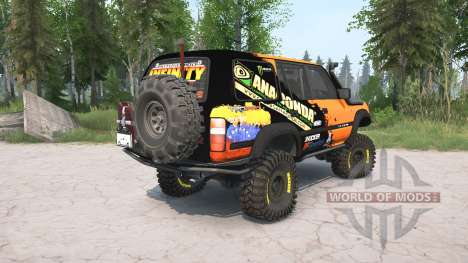 Toyota Land Cruiser 80 VX (FZJ80G) 1995 lifted for Spintires MudRunner
