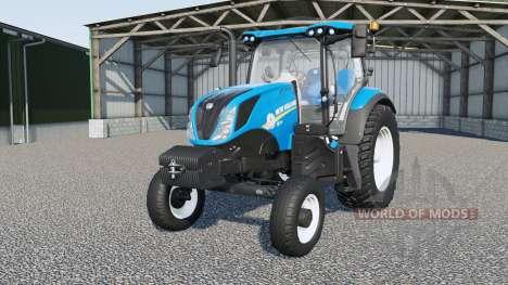New Holland T6-series for Farming Simulator 2017
