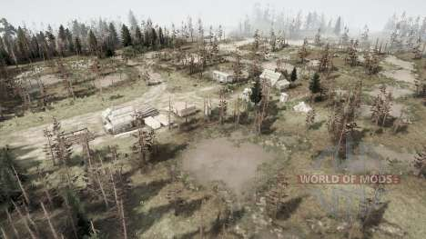 Swamp for Spintires MudRunner
