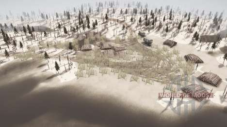 Three lakes for Spintires MudRunner