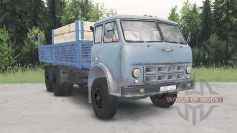MAZ-514 for Spin Tires