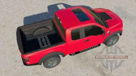 Ford F-150 Raptor 2017 for Farming Simulator 2017