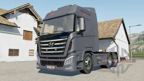 Hyundai Trago Xcient 2013 for Farming Simulator 2017