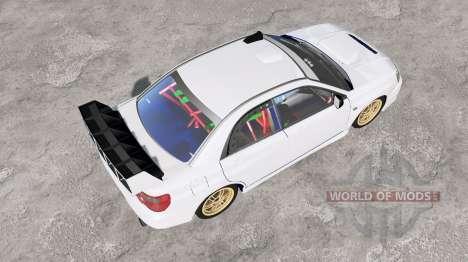 Subaru Impreza WRX STi (GDB) 2004 for BeamNG Drive