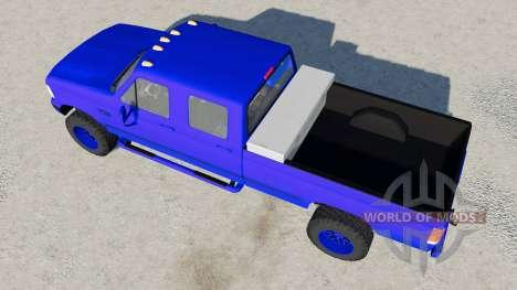 Ford F-350 Powerstroke XLT Crew Cab 1996 for Farming Simulator 2017