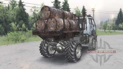 MAZ-5429 v1.2 for Spin Tires