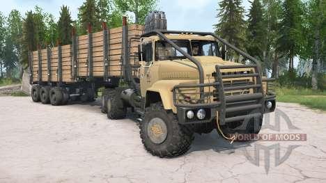 KrAZ-260V for Spintires MudRunner