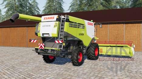 Claas Lexion 770 for Farming Simulator 2017
