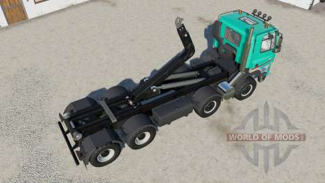 Tatra Phoenix T158 hooklift for Farming Simulator 2017