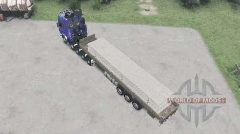 Scania R730 10x10 v2.0 for Spin Tires