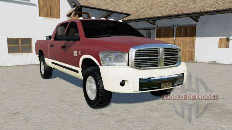 Dodge Ram 3500 Mega Cab 2006 for Farming Simulator 2017