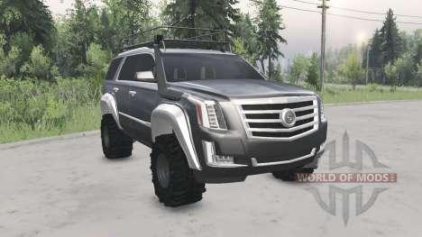 Cadillac Escalade (GMTK2XL) 2015 for Spin Tires