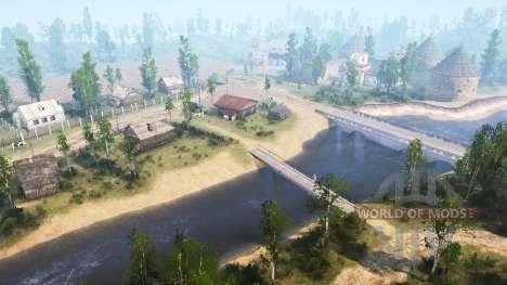 Dam of 2 v2.0 for Spintires MudRunner