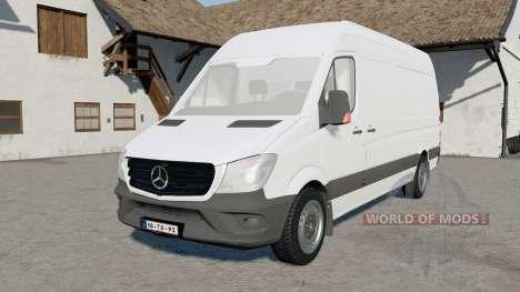 Mercedes-Benz Sprinter 319 CDI BlueTEC LWB for Farming Simulator 2017