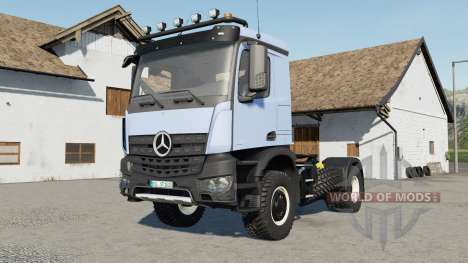 Mercedes-Benz Arocs for Farming Simulator 2017