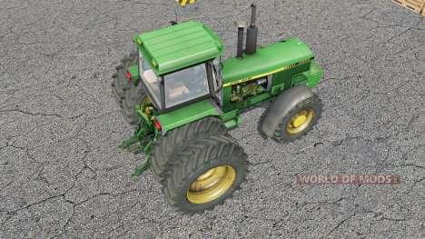 John Deere 4000-series for Farming Simulator 2017