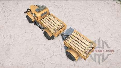 ZIL-157 Lumberjack for Spintires MudRunner