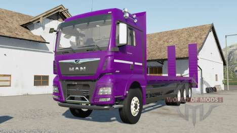 MAN TGX porte-engins for Farming Simulator 2017