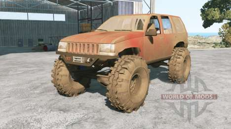 Jeep Grand Cherokee (ZJ) 1994 Trail for BeamNG Drive