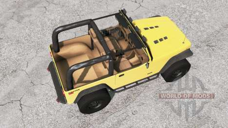 Ibishu Hopper Full-Time 4WD v1.0.2 for BeamNG Drive