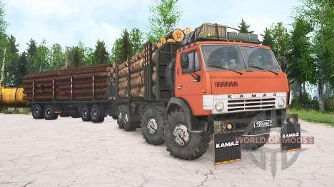 KamAZ-63501 for Spintires MudRunner