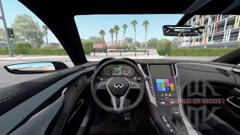 Infiniti Q60 concept (CV37) 2015 for American Truck Simulator