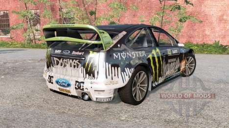 Ford Focus RS WRC (DA3) 2010 for BeamNG Drive