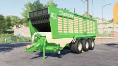 Krone ZX 560 GƊ for Farming Simulator 2017