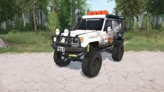 Toyota Land Cruiser Hard Top (J71) LX lifted for MudRunner
