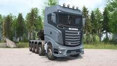 Scania R1000 10x10 for MudRunner