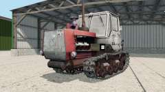 T-150-05-09 with a blade for Farming Simulator 2017