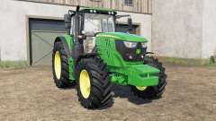 John Deere 6135M〡6145M〡6155Ɱ for Farming Simulator 2017