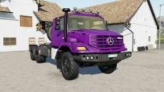 Mercedes-Benz Zetros 3643 6ᶍ6 for Farming Simulator 2017