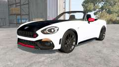 Abarth 124 Spider (348) 2016 for BeamNG Drive