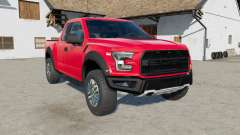 Ford F-150 Raptor 2017 for Farming Simulator 2017