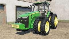 John Deere 8245R-8400Ʀ for Farming Simulator 2017