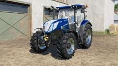 New Holland T6.125〡T6.155〡T6.175 Blue Power for Farming Simulator 2017