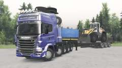 Scania R730 10x10 v2.0 for Spin Tires