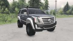 Cadillac Escalade (GMTK2XL) 2015 for Spin Tires