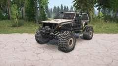 Jeep Cherokee 2-door (XJ) crawler for MudRunner