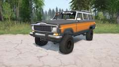 Jeep Grand Wagoneer 1991 for MudRunner